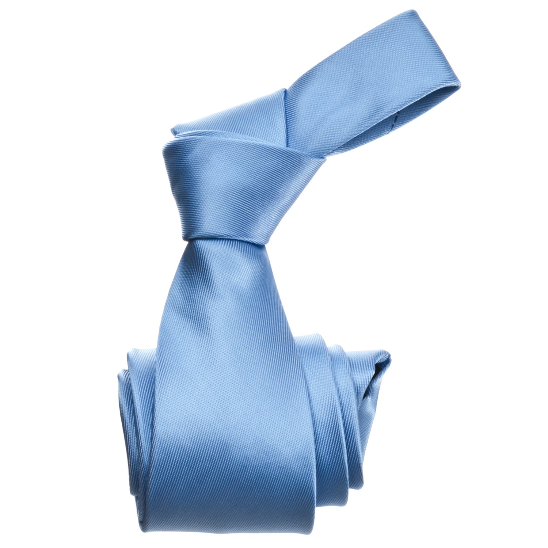 Republic Men's Solid Blue Tie