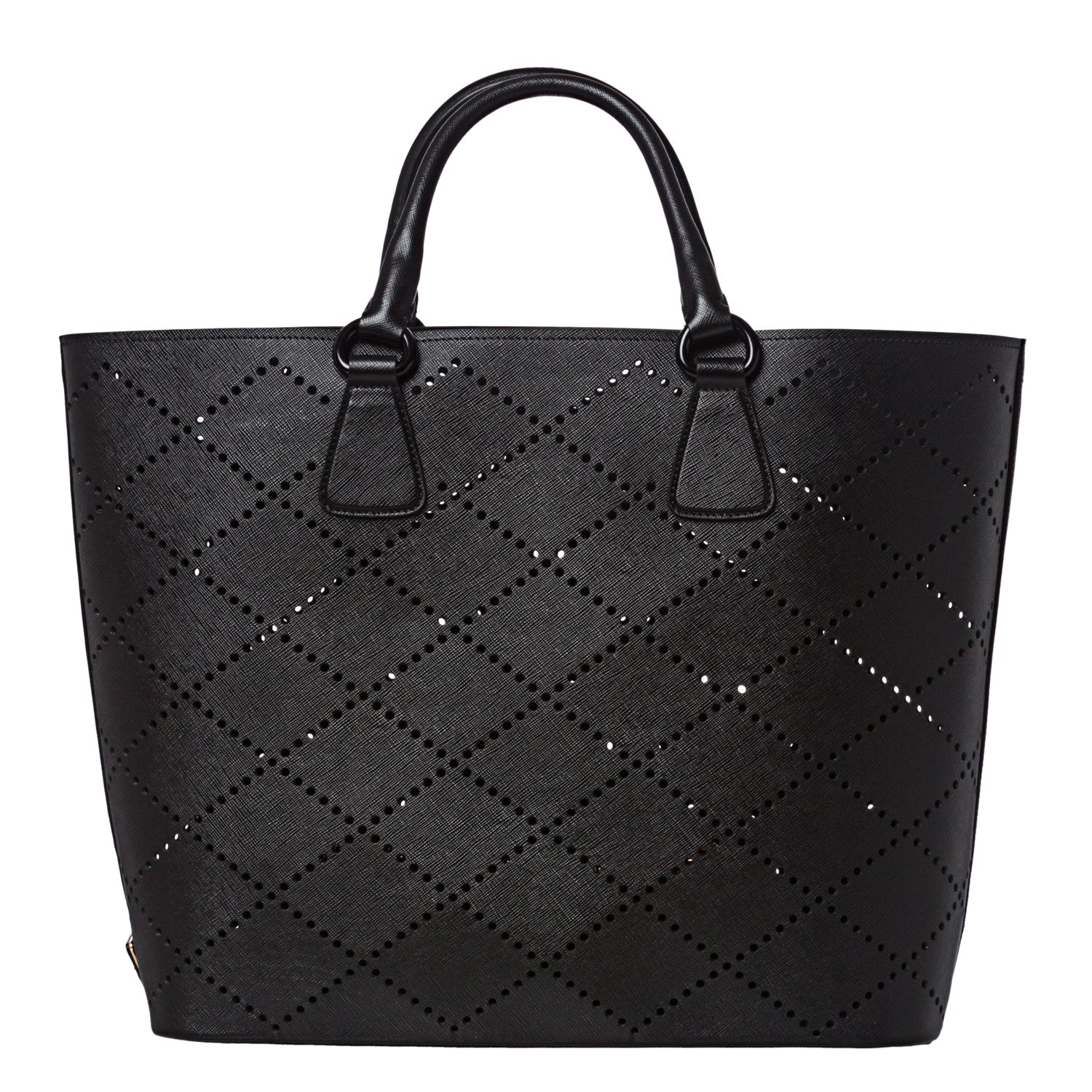 promo code for lyst prada gardeners small tote bag in orange b4687 dc618   ireland prada large black perforated saffiano leather tote bag 7138f 2ef4c d897f9790e7df