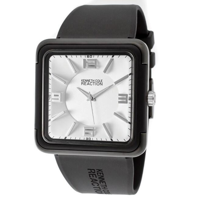 Kenneth Cole Reaction Men's Black Polyurethane Watch