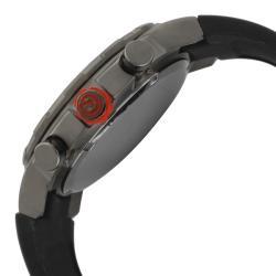Red Line Men's 'RPM' Black Silicone Watch