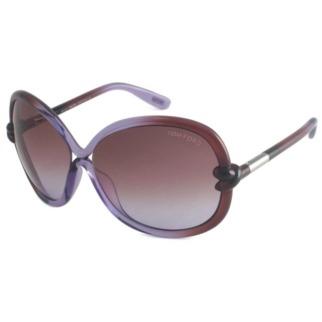 Tom Ford Women's TF0185 Sonja Rectangular Sunglasses