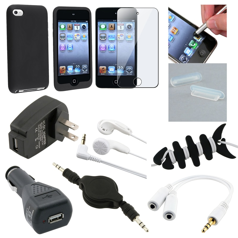 Case/ Protector/ Headset/ Chargers for Apple iPod Touch Generation 4