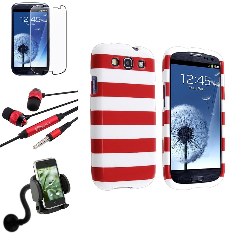 BasAcc Case/ Protector/ Mount/ Headset for Samsung Galaxy S III/ S3 - Thumbnail 0