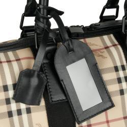 Burberry 'Crest' Plaid Duffle Bag - Thumbnail 2