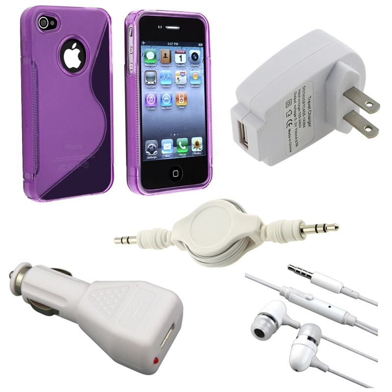Case/ Charger Adapters/ Headset/ Cable for Apple iPhone 4/ 4S