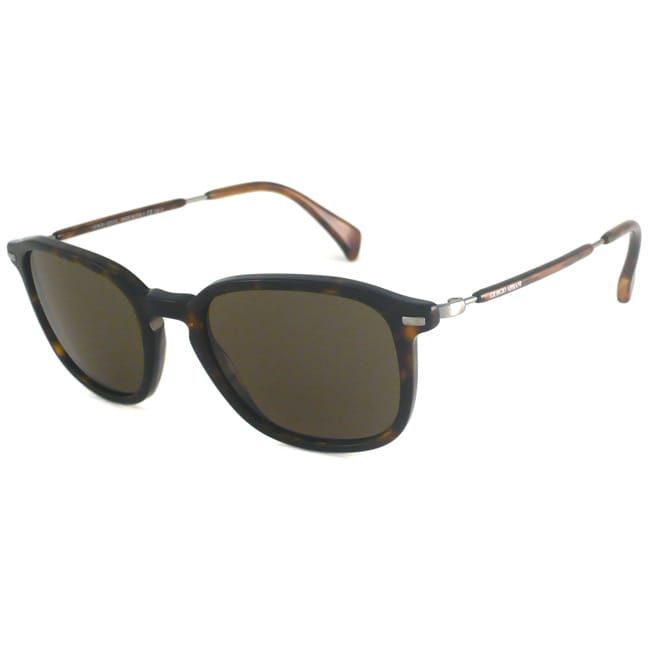 Giorgio Armani Men's GA924 Rectangular Sunglasses
