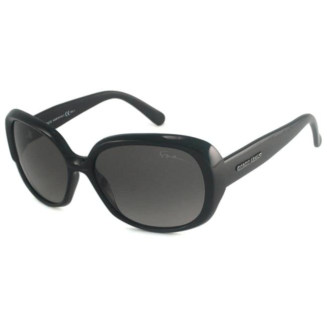 Giorgio Armani Women's GA909 Rectangular Sunglasses