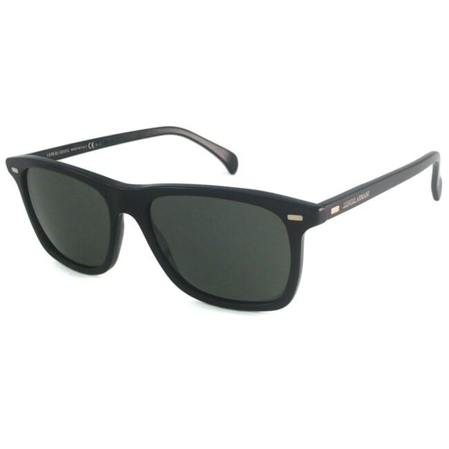 Giorgio Armani Men's GA837 Rectangular Sunglasses