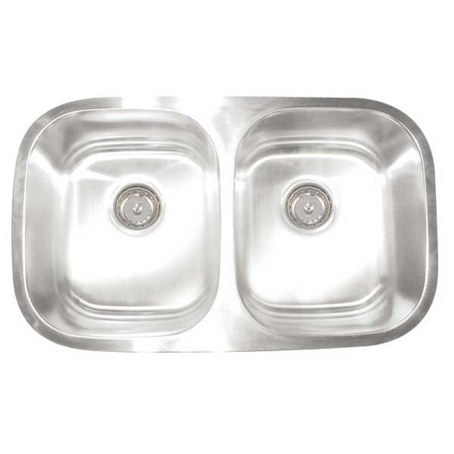 Artisan Premium Collection 16-gauge Stainless Steel 30-inch Undermount Double Basin Kitchen Sink