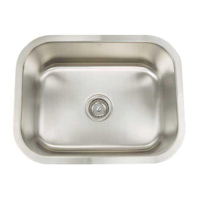 Artisan Premium Collection 16-gauge Stainless Steel 23-inch Undermount Single Basin Utility Kitchen Sink