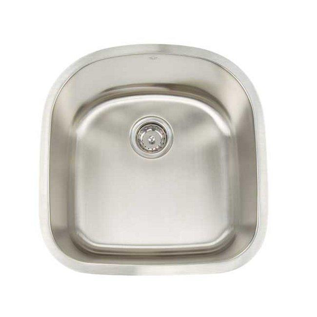 Artisan Premium Collection 16-gauge Stainless Steel 20-inch Undermount Single Basin Bar Kitchen Sink