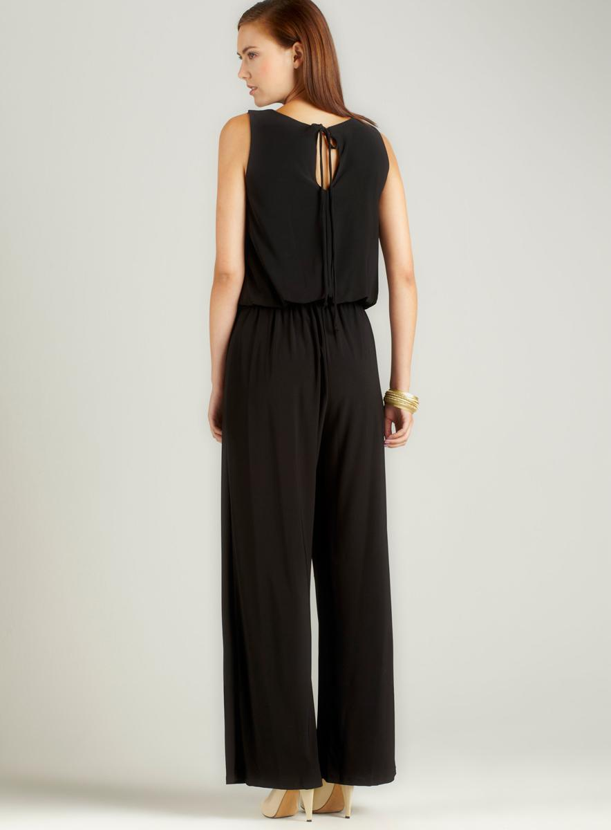 Annalee + Hope Aug-Solid Jersey Tank Jumpsuit - Thumbnail 1