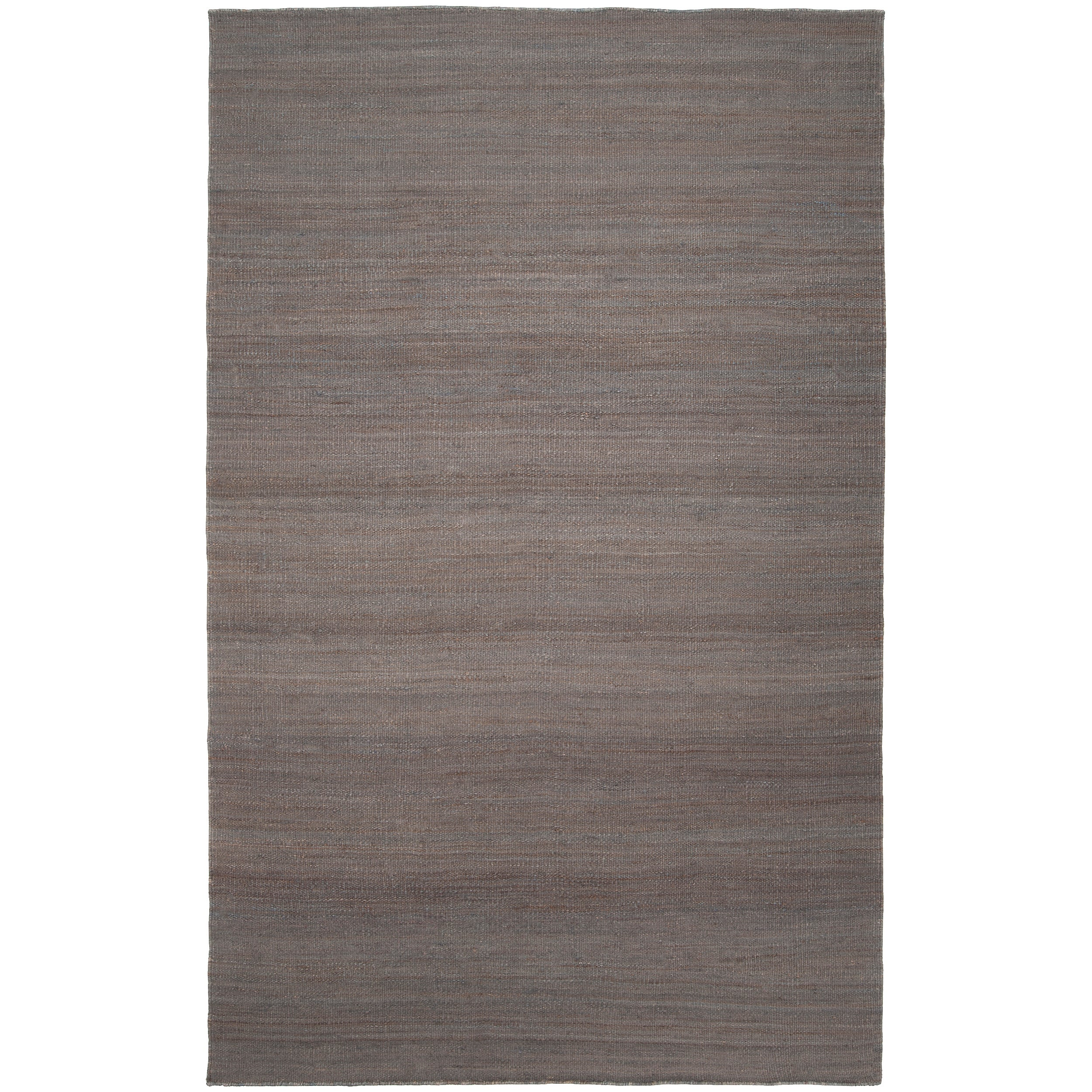 Hand-woven Redwood Pale Blue Reversible Jute Rug Area Rug (2' x 3')