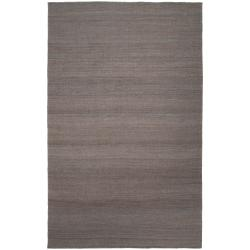 Hand-woven Redwood Pale Blue Reversible Jute Rug Area Rug (2' x 3') - Thumbnail 0