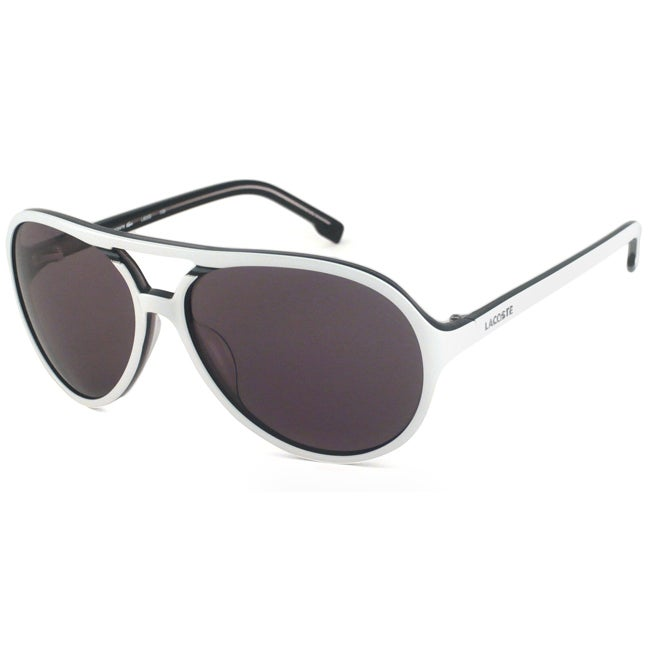 1dbf0ca26588 Shop Lacoste Men s  Unisex L605S Aviator Sunglasses - Free Shipping Today -  Overstock - 7057388