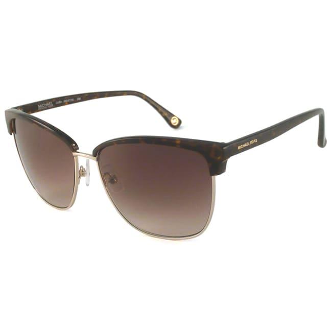 Michael Michael Kors Women's M2472S Griffin Rectangular Sunglasses