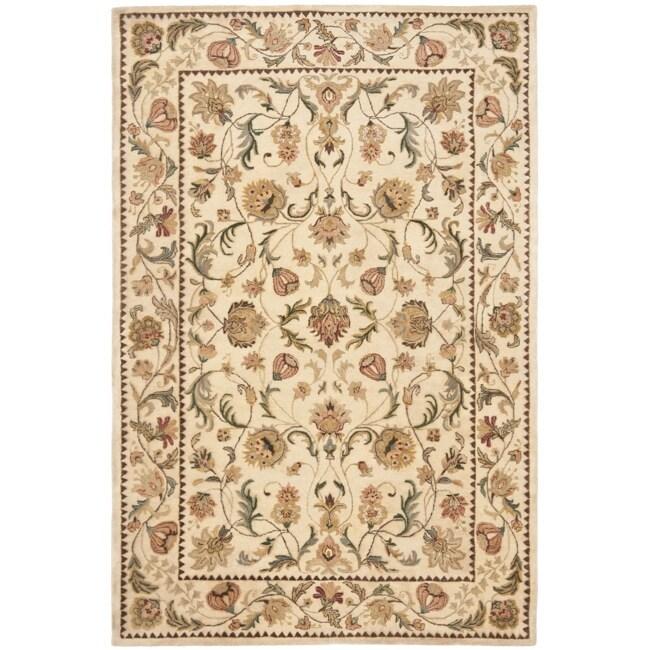 Safavieh Handmade Eden Ivory Hand-spun Wool Rug - 9'6 x 13'6