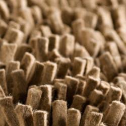 Hand-woven Flinders Dark Beige Wool Shag Rug (8' x 10') - Thumbnail 2