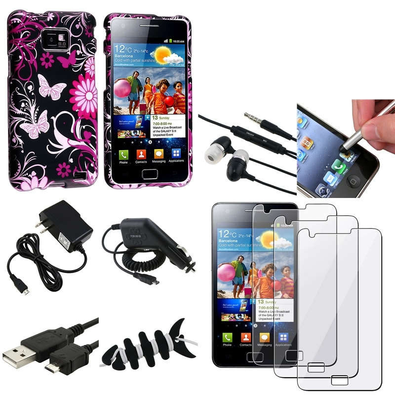 Case/ Screen Protector/ Charger/ Stylus for Samsung Galaxy Note N7000