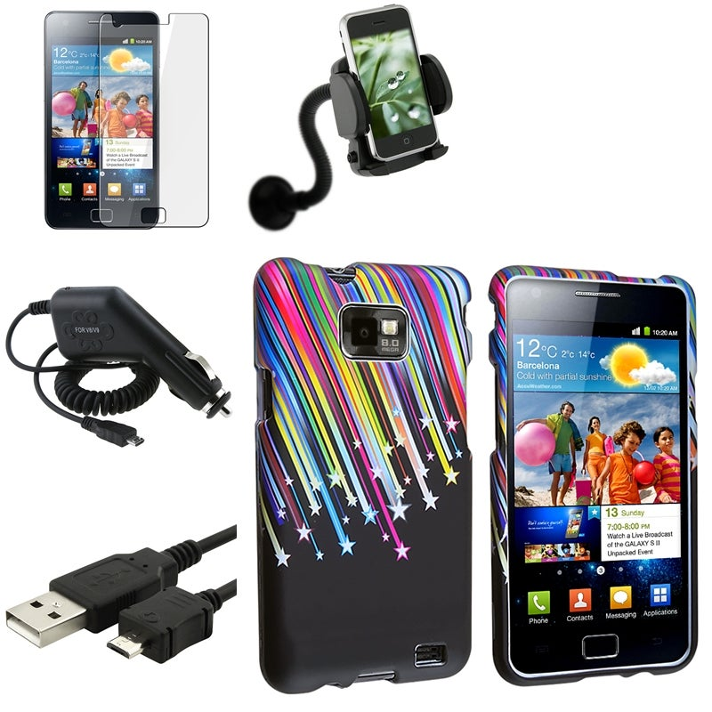 Case/ Screen Protector/ Charger/ Mount for Samsung Galaxy Note N7000 - Thumbnail 0