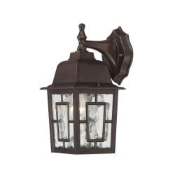 Nuvo 'Banyon' 1-light Rustic Bronze 12-inch Wall Sconce