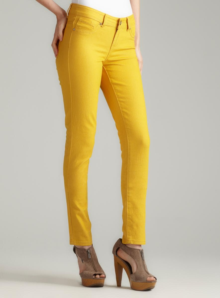 Blue Faith Mustard Stretch Skinny Jean