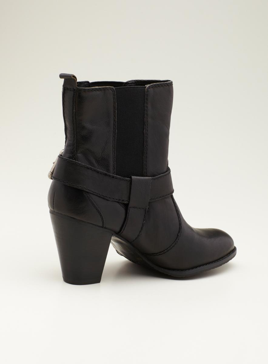 Arturo Chiang Ac Ankle Mh Gored Moto Boot - Thumbnail 1