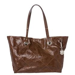 Moncler Adelaide Chocolate Stitched Tote