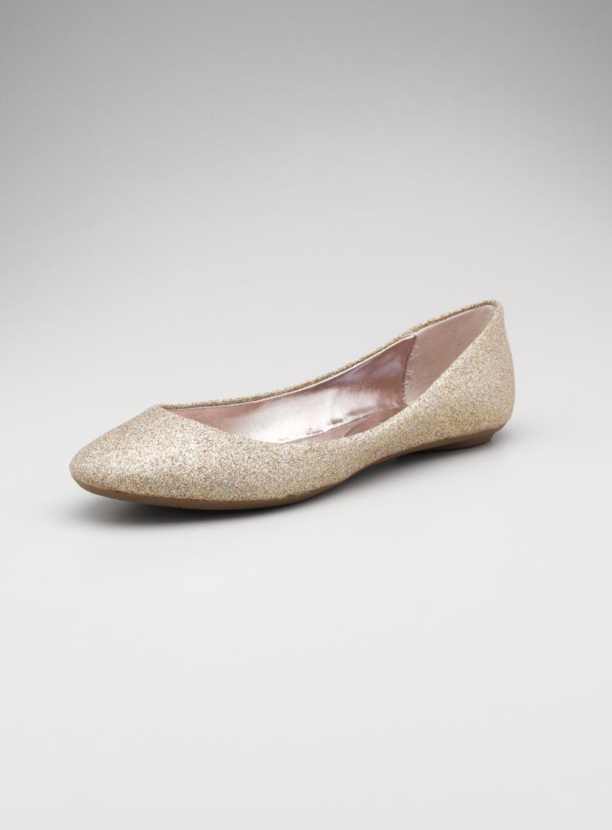 Steve Madden Sm Scooped Out Ballet Flat