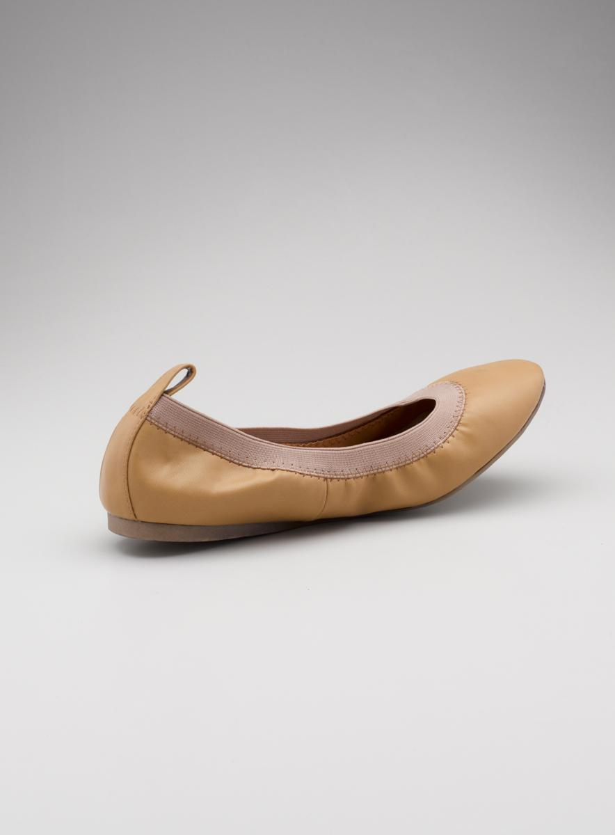 Wanted Lea Ballet Flat With Back Tab