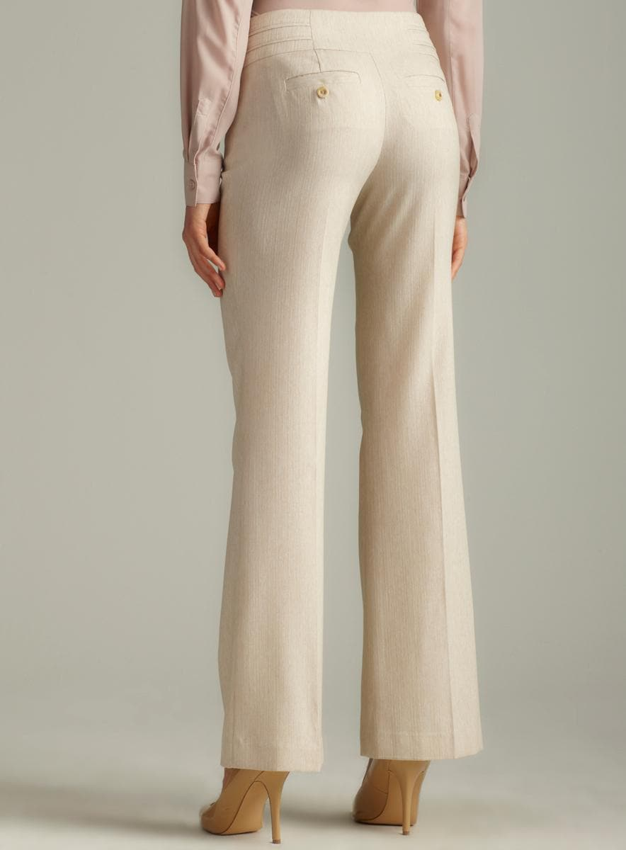 Xoxo Rayon from Bamboo Pleated Waistband Pant