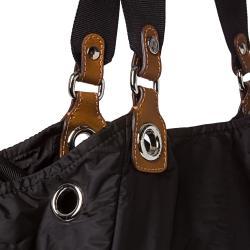 Moncler Black Nylon Tote Bag