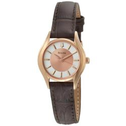 Bulova Women's Rose-goldtone Stainless Steel Watch