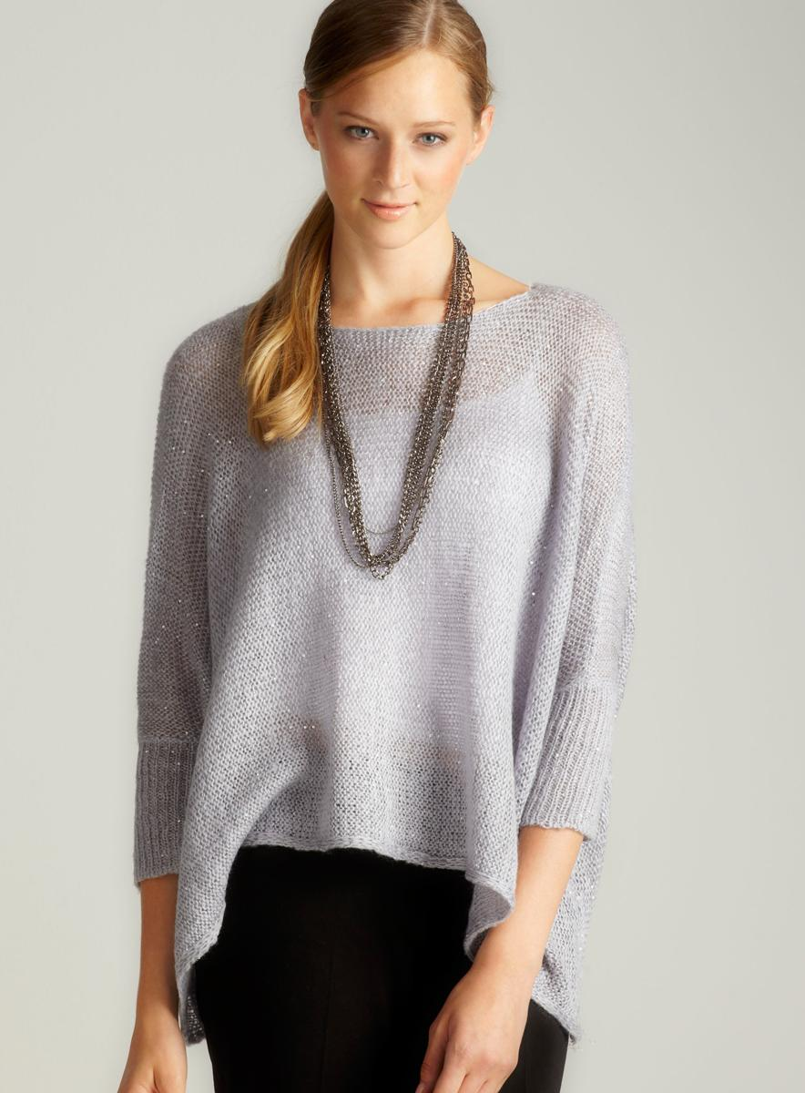 ROMEO&JULIET COUTURE Long Sleeved Shine Sweater