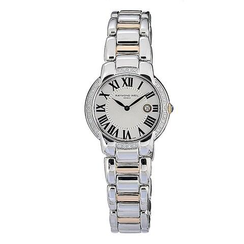 Raymond Weil Women's Jasmine Diamond Two-tone Watch - Silver