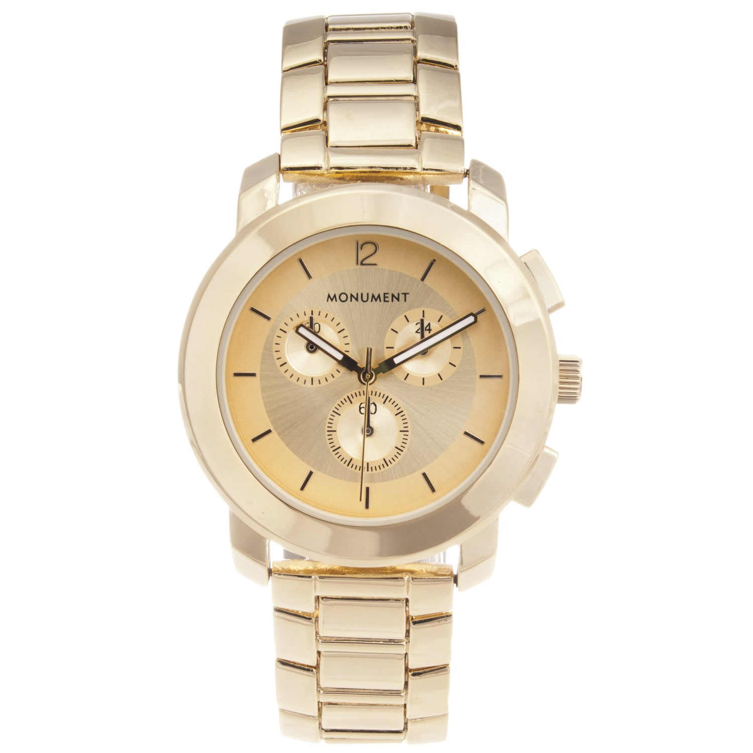 Monument Women's Gold-tone Sporty Watch
