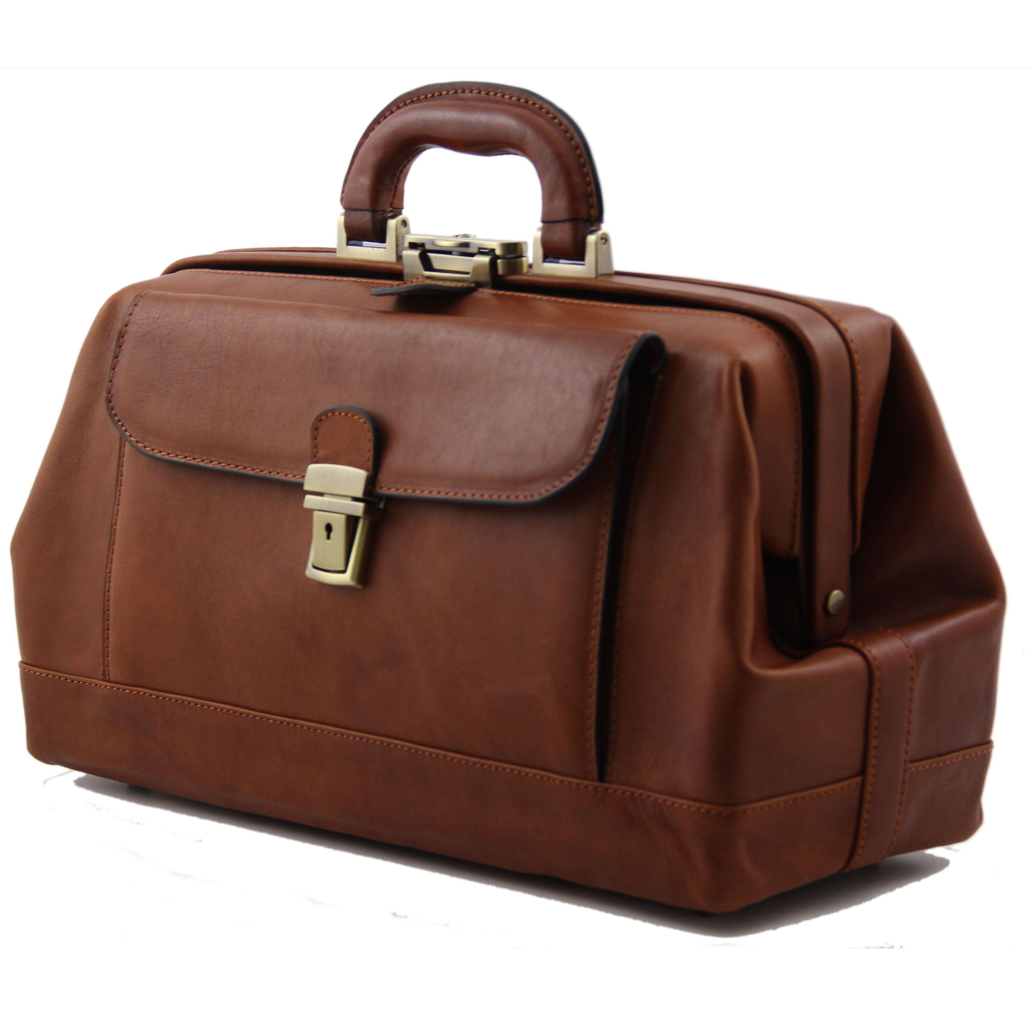 Alberto Bellucci Monaco Exclusive Leather Doctor Bag