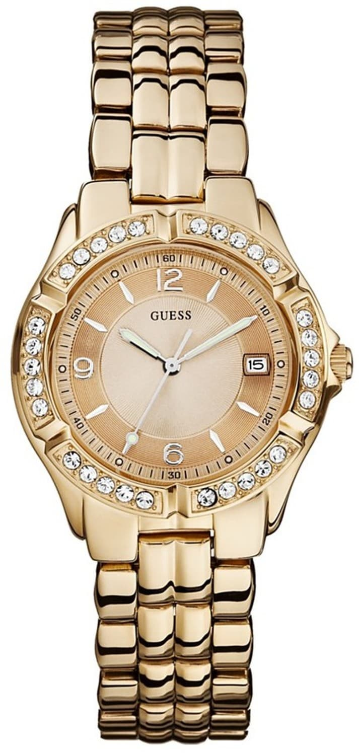 Guess Women's Rose-goldtone Stainless Steel Watch
