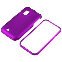 Snap-on Rubber Coated Cases/ LCD Protectors for Samsung i500 Fascinate - Thumbnail 1