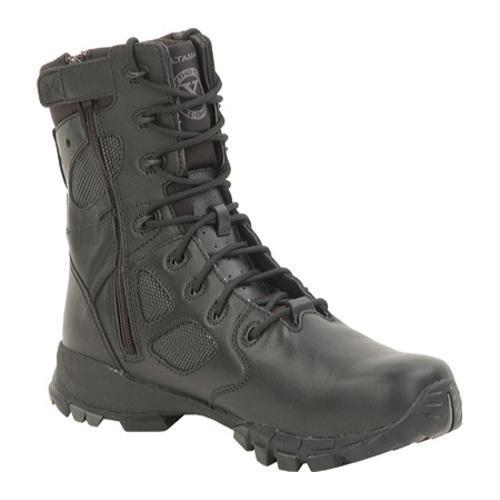 Men's Altama Footwear 8in Sidezip Ortho-TacX Black Leather