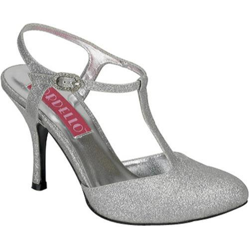 Bordello Women's Violette 12G Silver Mini Glitter
