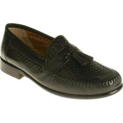 Men's Brass Boot Adolfo Black Deerskin/Leather