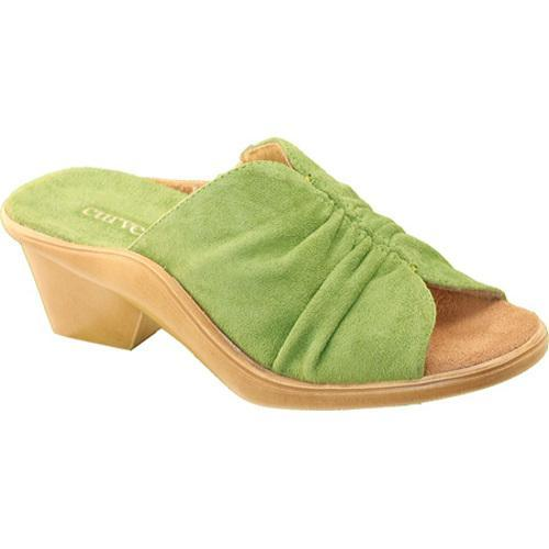 Women's Curvetures Becky 698 Lime Suede