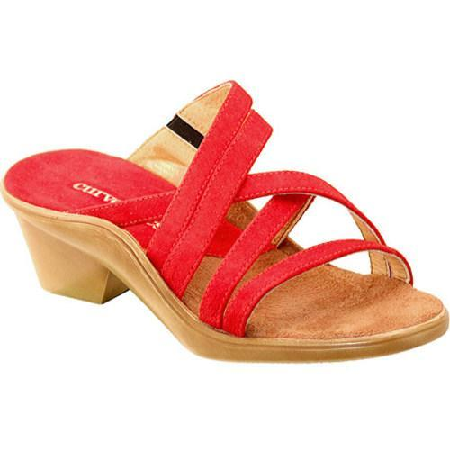 Women's Curvetures Michelle 712 Red Suede
