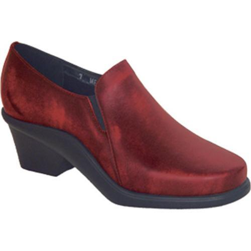 Curvetures Women's Natalie 612 Red Hand Rubbed