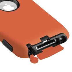 Hybrid Case/ Anti-glare Protector for Apple iPod Touch 4th Generation