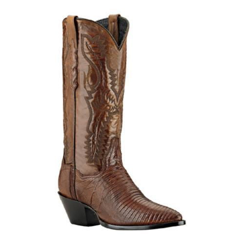 Women's Dan Post Boots Genuine Teju Lizard DP2451J Antique Tan