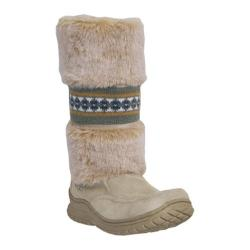 Women's Dingo Cozies 11in DI6022 Beige - Thumbnail 0