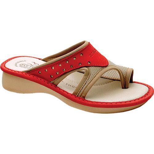 Women's Fly Flot Province Red Nubuck/Beige