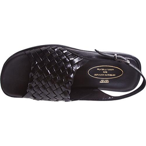 Men's Giovanni Marquez Nero V1213 Black Leather